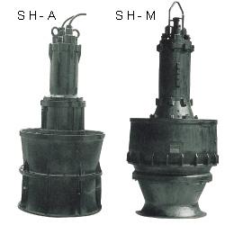 SH-A SH-M沉水式立軸斜流泵浦